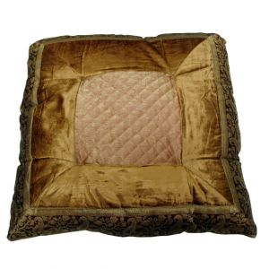 Kenza Quilt Pillow Bronze