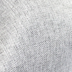 Platinum / Silver Metallic Linen Round 132in