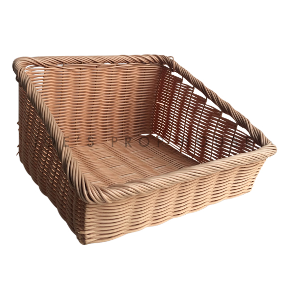 Devor Inclined Square Wicker Basket