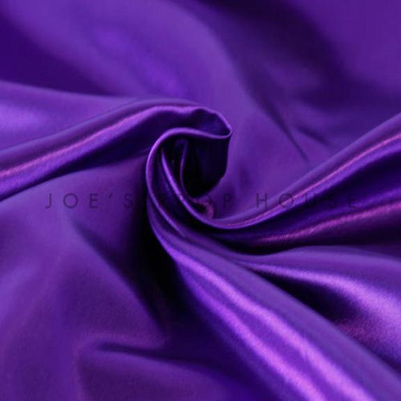 Purple Satin Linen