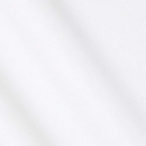 White Polyester Tablecloth Round 90in