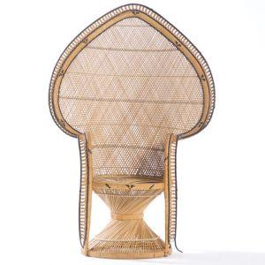 Chaise Spade en Osier