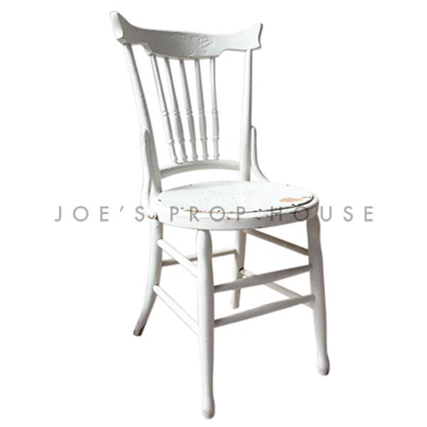 Brittany STAR Wooden Chair White