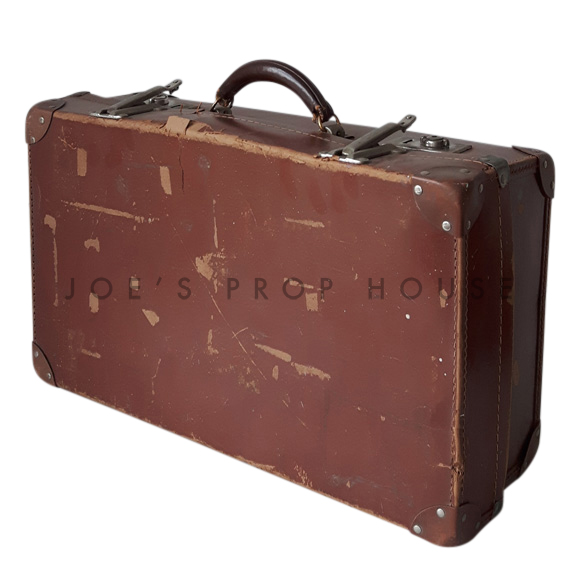 Lewis Hardshell Suitcase Brown