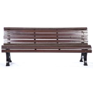Raymond Park Bench Brown