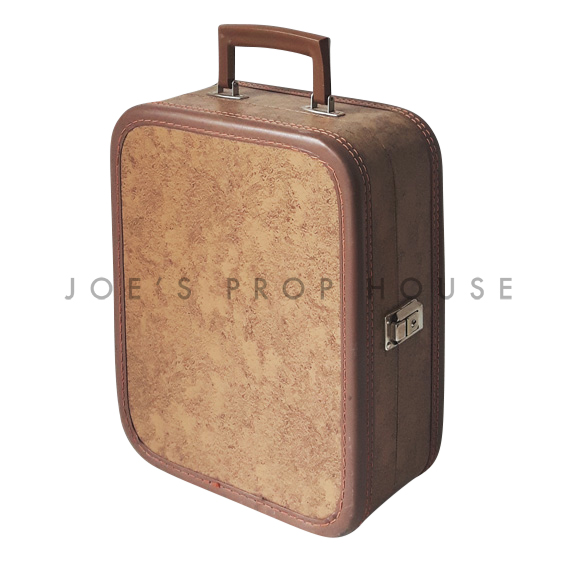 Taylor Hardshell Vanity Suitcase Brown