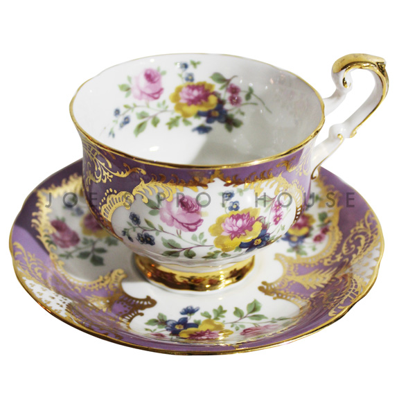 Madeleine Floral Teacup and Saucer