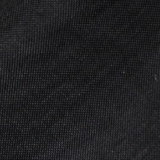 Black VINTAGE LINEN Tablecloth Round 120in