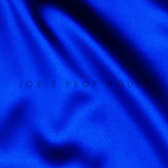 Cobalt Blue Satin Linen