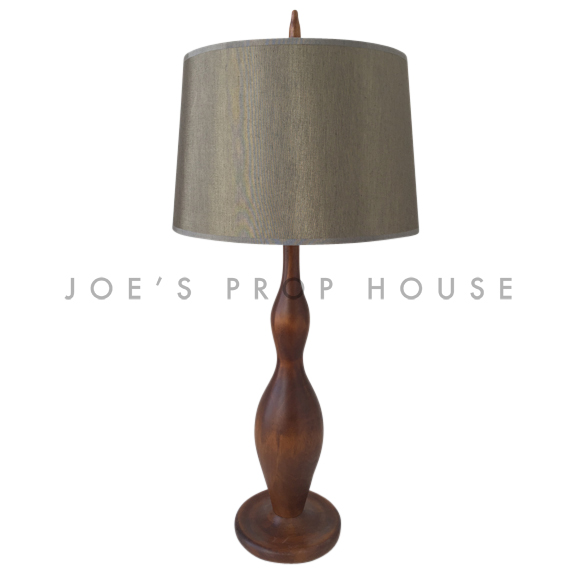 Lampe de table en bois Arnold