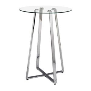 Round Glasstop Cruiser Table