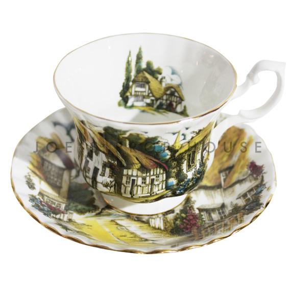Tasse à thé et soucoupe Campagne