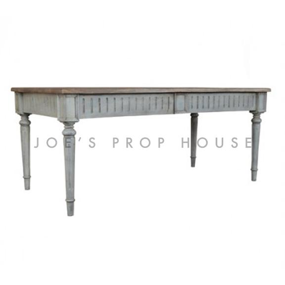 Table de Diner Grigio L70po x P35po x H30po