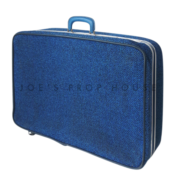 Bridwell Fabric Softshell Suitcase Blue LARGE