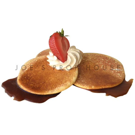 Pancake Trio Food Prop