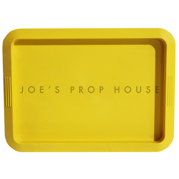 Melo Rectangular Acrylic Serving Tray Yellow