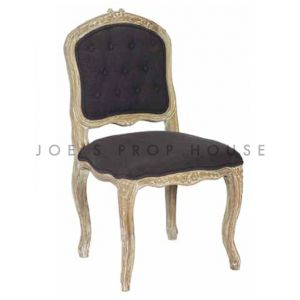 Shabby Antoinette Dining Chair Charcoal