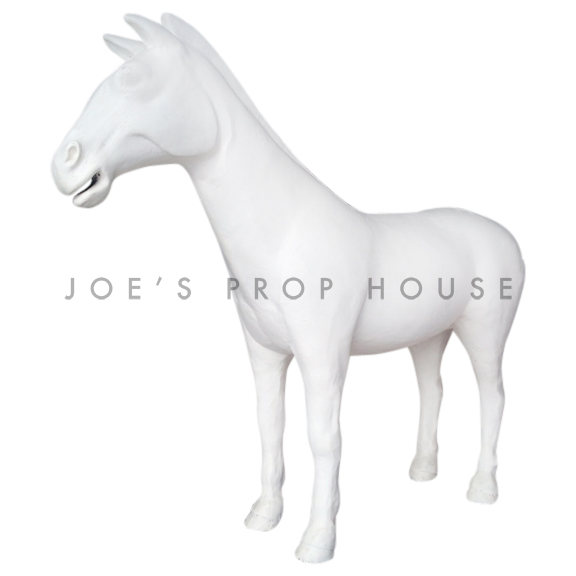 Lifesize Horse WHITE