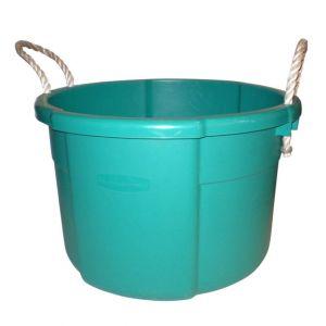 Seau en Plastique Turquoise