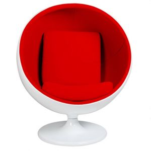 Chaise Retro Ball Rouge