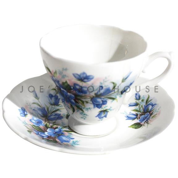 Sabrina Floral Teacup and Saucer