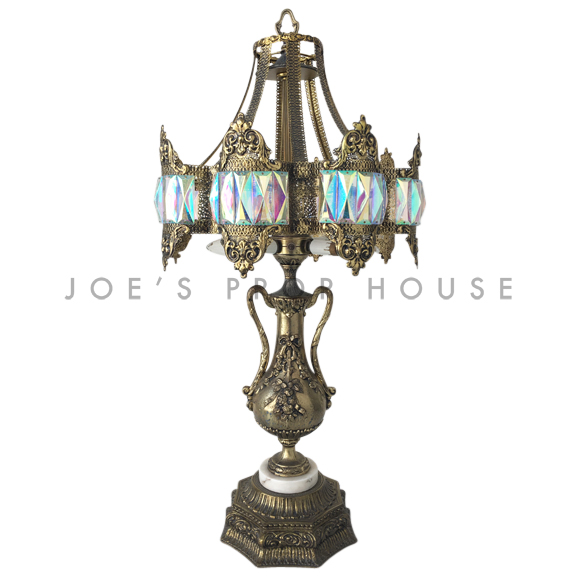 Damas Ornate Gold Table Lamp
