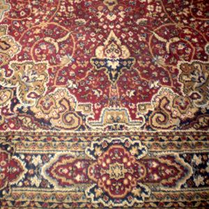 Burgundy Persian Rug W5ft x H7ft
