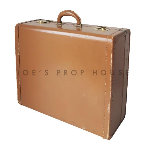 Rosalind Hardshell Suitcase Brown LARGE