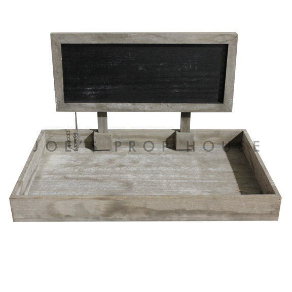 Russell Reclaimed Wood Chalkboard Tray