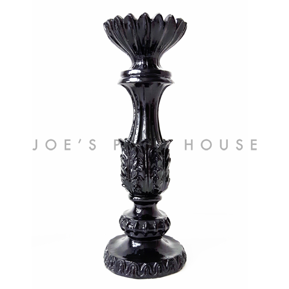 Ellie Pillar Candlestick Black