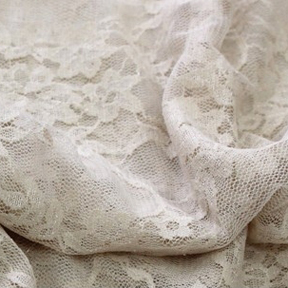 Nude LACE OVERLAY Tablecloth Rectangular 90in x 156in