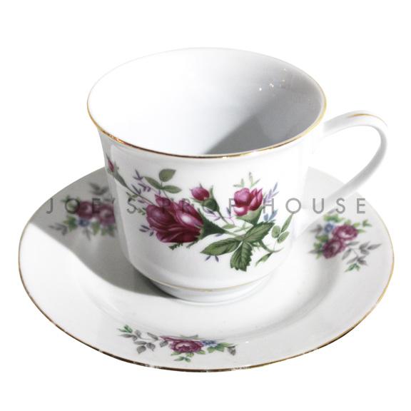 Melissa Tasse à thé et soucoupe