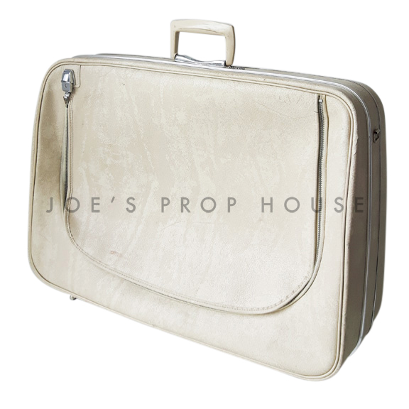 Renette Softshell Suitcase Ivory LARGE