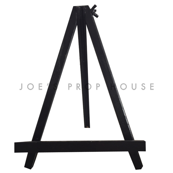 Mini Canvas Wooden Easel Stand BLACK