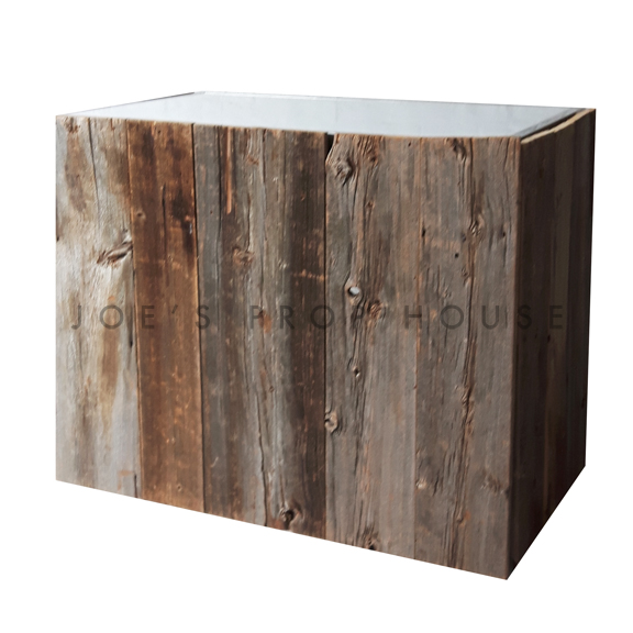 Barnwood Plexi Bar L4ft