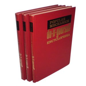 Do-It-Yourself Encyclopedia Hard Cover Books