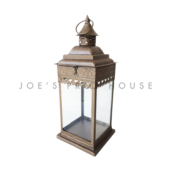 Zaida Metal Lantern SMALL Bronze