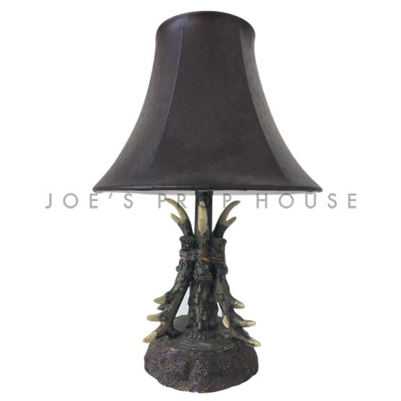 Lampe de table Ramure brun