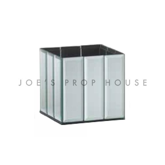 Mirror Baguette Square Vase