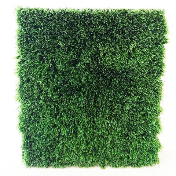 Artificial Long Blade Grass Rectangular Panel Green