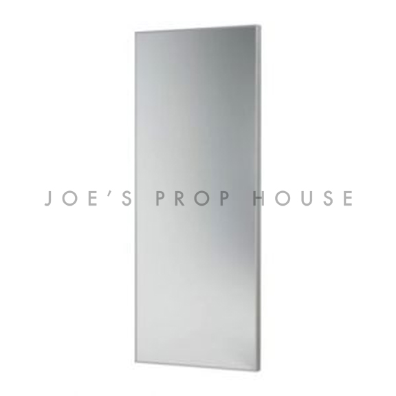 Modern Self-Standing FLOOR Mirror w/Silver Frame