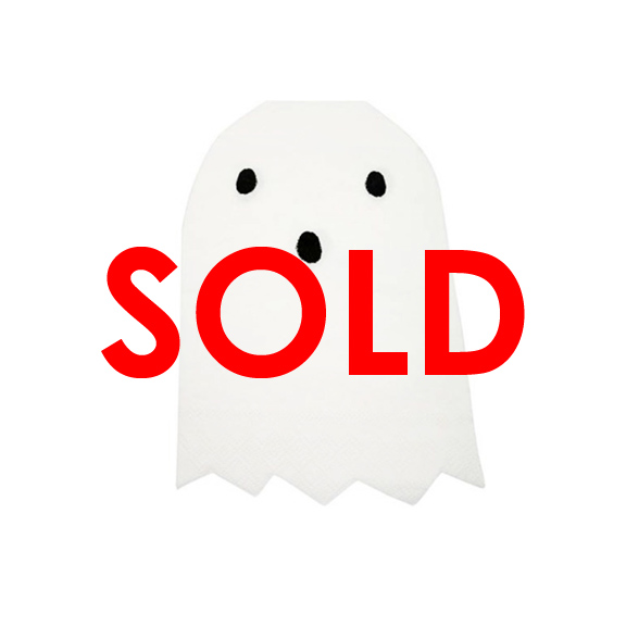 BUY ME / NEW ITEM $8.99 each Ghost Small Paper Napkins - 20 Pack