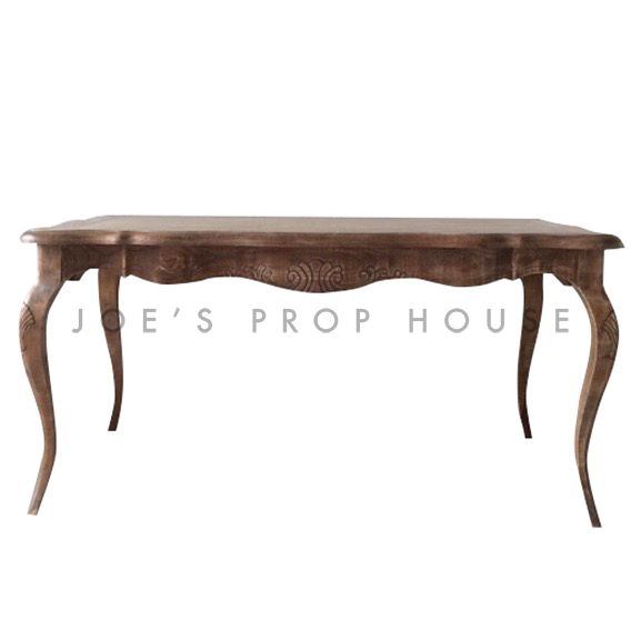 Antoine Dining Table Brown L63in x D37in x H30in