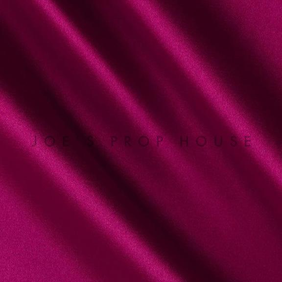 Magenta Satin Linen