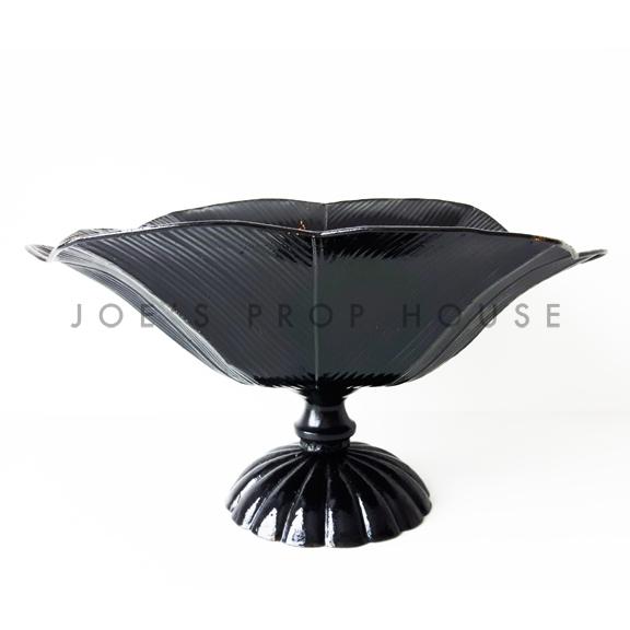 BUY ME / USED ITEM $14.99 each Blossom Metal Pedestal Vase Black W15in x D11in x H8in