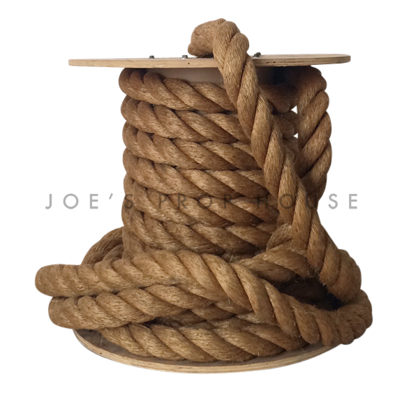 Oversized Nautical Rope Spool
