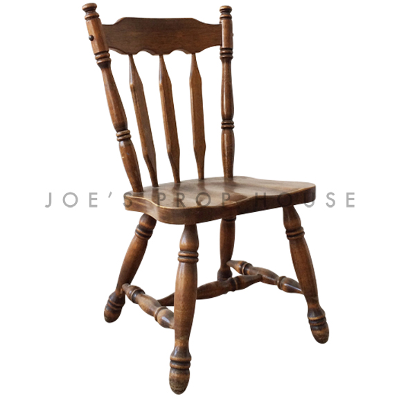 Wedel Wood Dining Chair Brown