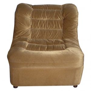 Viktor Velour Chair Brown $19.99