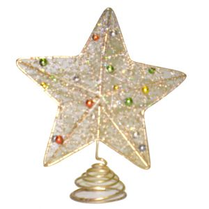 Gold Star Tree Topper