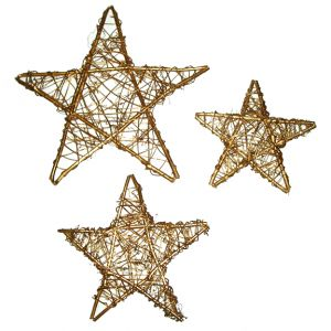 Twig Branch Stars ( 3 ) Sizes Available